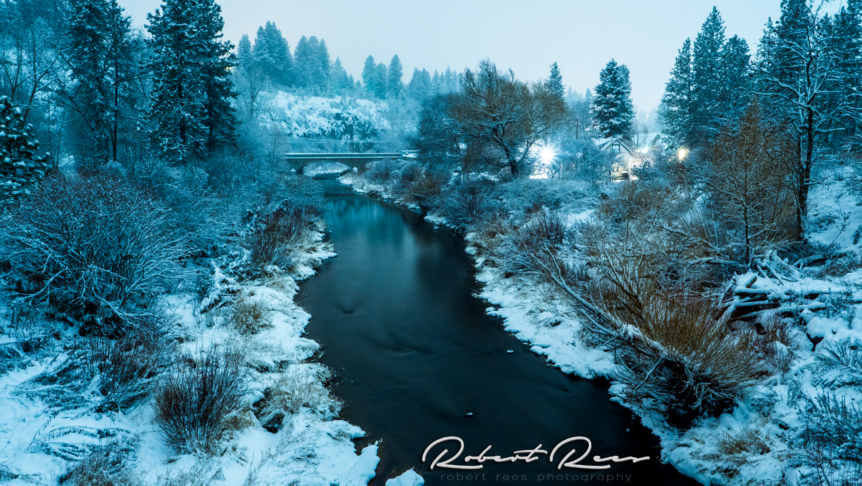 Latah Creek - Spokane, Washington