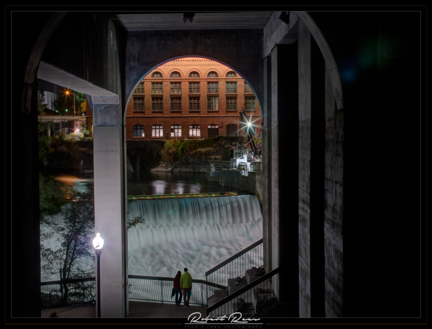 Under the Bridge - Spokane, Washington